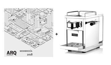 Membresía 2018 + Máquina espresso Sjostrand