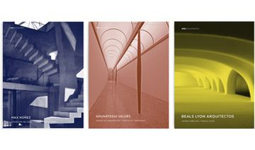 Pack ARQ Monografías:  Max Núñez | Amunátegui Valdés | Beals & Lyon