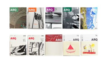 Pack 10 revistas ARQ