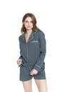 Pijama Margaret Charcoal