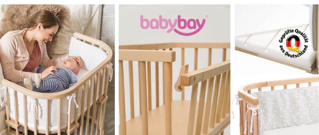 Babybay, la cuna de colecho fabricada en Alemania y 100% de madera de haya no tratada