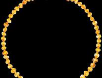 Collar de Ambar color Miel