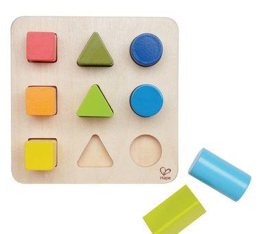Juego de encaje por color y forma