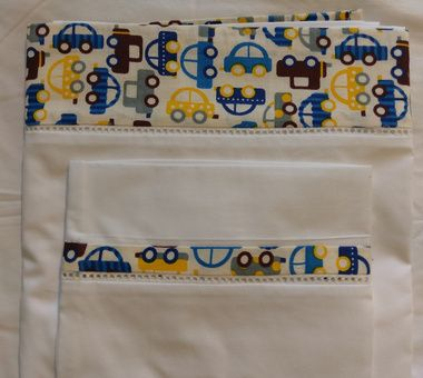 Set de sábanas y funda de almohada para Cunas Original y Midi