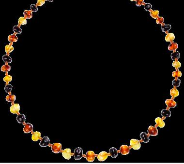 Collar de Ambar color Multicolor
