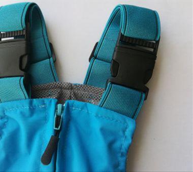 Jardinera azul calipso con osito T4