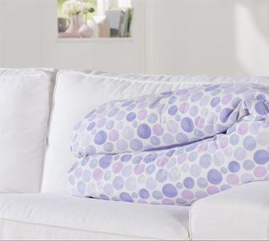 Theraline Original Cojín de lactancia, Waterdrops Purple