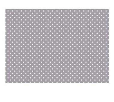 Guatero de semillas - Dots Grey 19x19cm