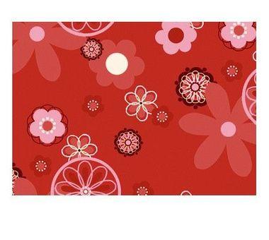 Guatero de semillas - Retro Flower Red 19 x 19 cm
