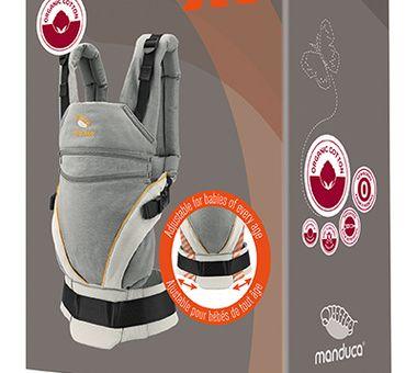 Manduca XT Cotton grey-orange