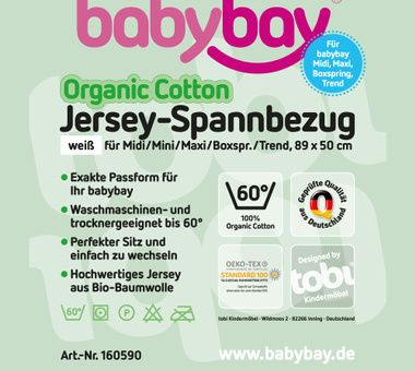 Babybay Sabanas Organic Cotton Maxi y Boxspring