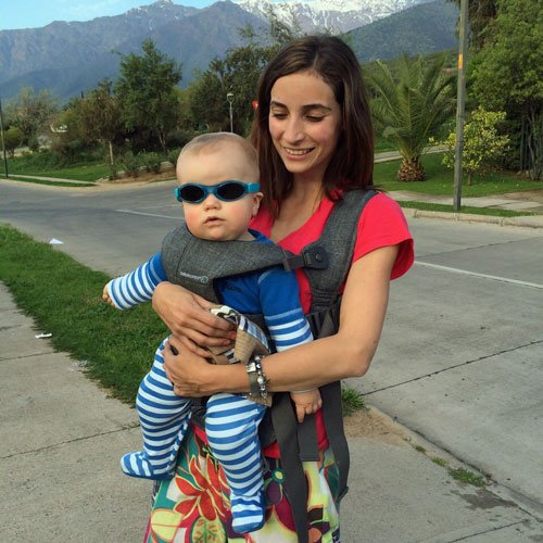 Anteojos de sol UV bebés Adventure (Celeste) Baby Banz
