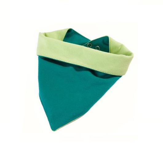 Babero impermeable tela Caracol (Verde) Ahí-Tá!