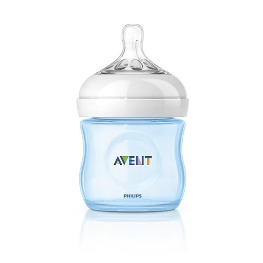 Mamadera Natural Azul (125 ml) Avent