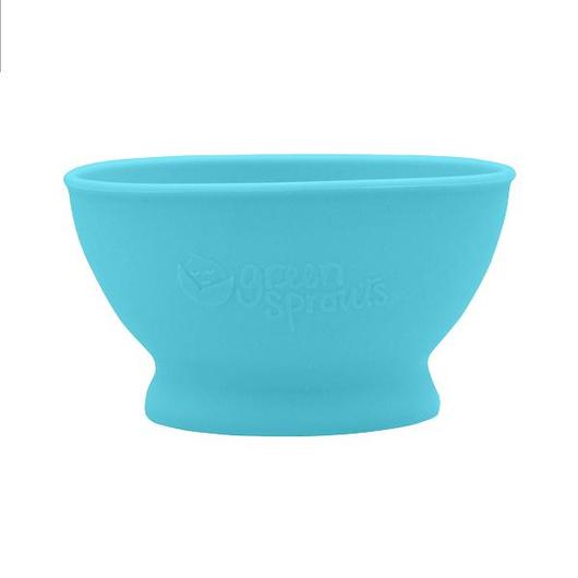 Bowl de Silicona (Celeste) Green Sprouts