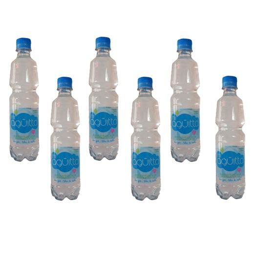 Pack Agua Purificada 6 botellas (500 ml.) Miagüitta