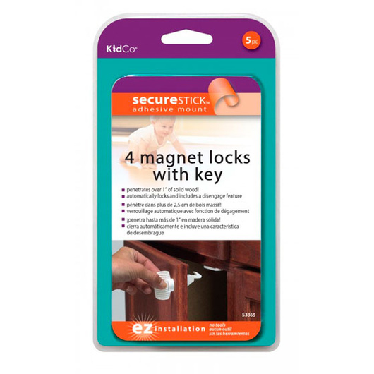 Bloqueador Magnético Puertas (4 un) KidCo
