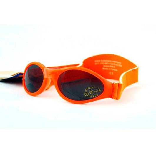 Anteojos de sol UV bebés Adventure (Naranjo) Baby Banz