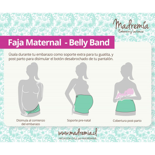 Pack Fajas Belly Band(2 unidades) Madremía