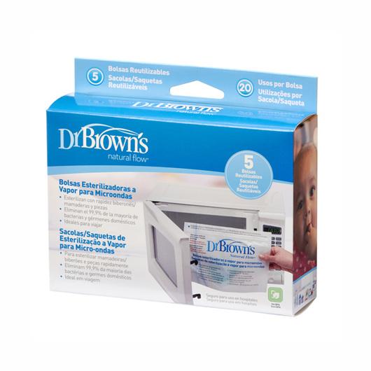 Bolsas Esterilizadoras para microonda (5 u.) Dr. Brown's