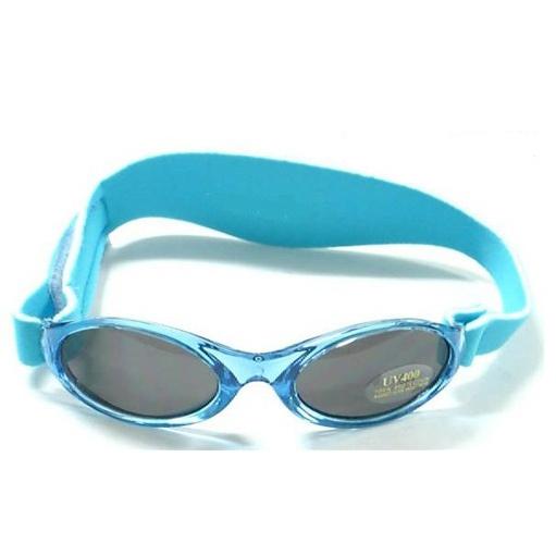 Anteojos de sol UV niños Adventure (Celeste) Kidz Banz