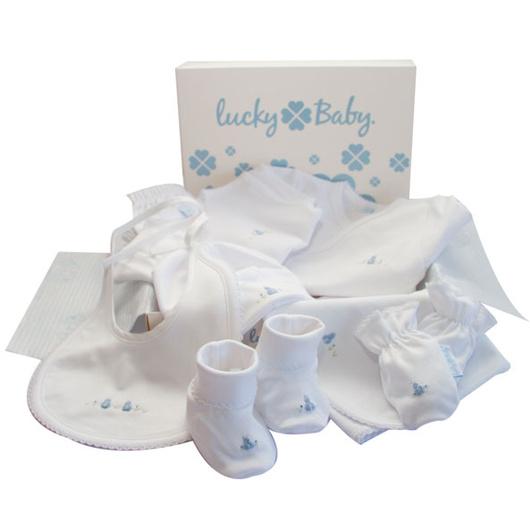 Ajuar Bordado a Mano (8 Piezas) Lucky Baby