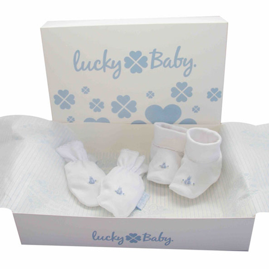 Ajuar Bordado a Mano (2 Piezas) Lucky Baby
