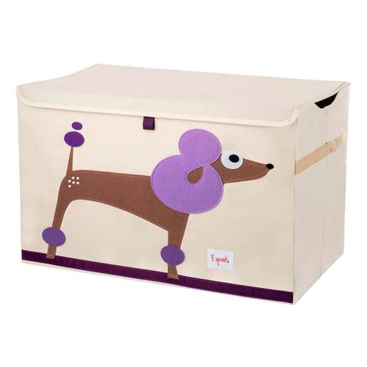 Baúl de juguetes Poodle 3 Sprouts