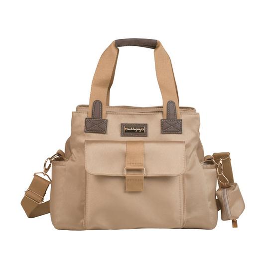 Bolso Maternal Kate Caqui Colección Urban Masterbag Baby