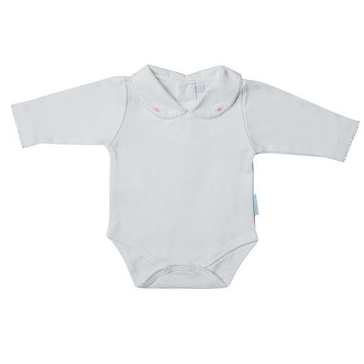 Body recién nacido niña bordado a mano Lucky Baby
