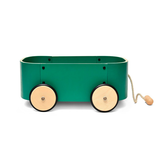 Carro de Arrastre Lupe (Verde) Roda