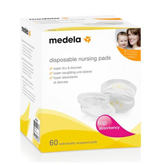 Absorbentes de leche (60 Un) desechables Medela