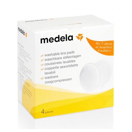 Absorbentes de leche reutilizables antibacterianos (4 Un) Medela