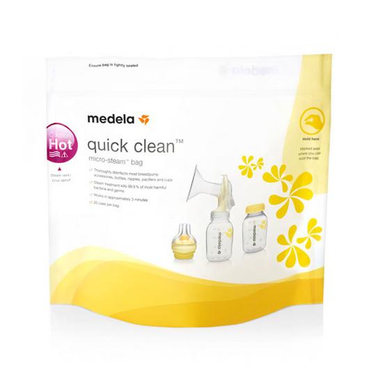 Bolsas Esterilizadoras microondas (5 Un) Quick Clean Medela