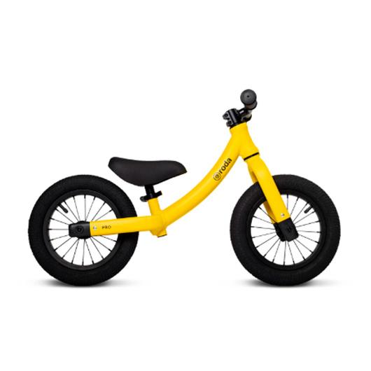 Bicicleta de Aprendizaje Pro Aluminio (Amarilla) Roda