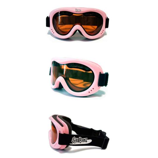 Antiparra Nieve niños (Rosado) Ski Banz