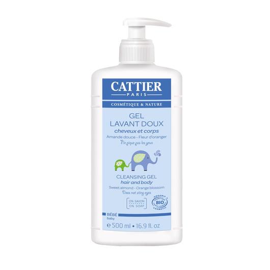 Gel de baño orgánico bebé y niño (500 ml.) Cattier