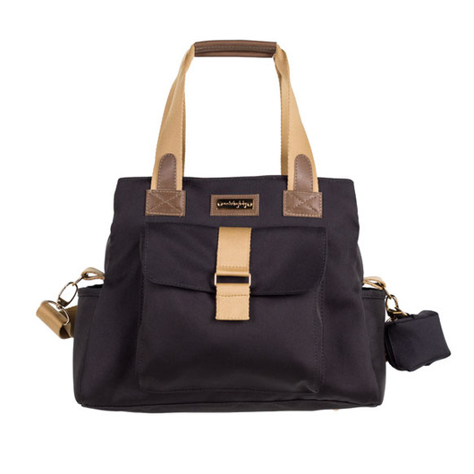 Bolso Maternal Kate Negro Colección Urban Masterbag Baby