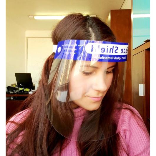 Mascara Facial Protectora Certificada (5 Un) Face Shield