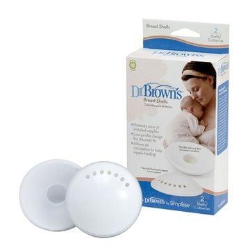 Discos Protectores Pecho (2 unidades) Dr. Brown's