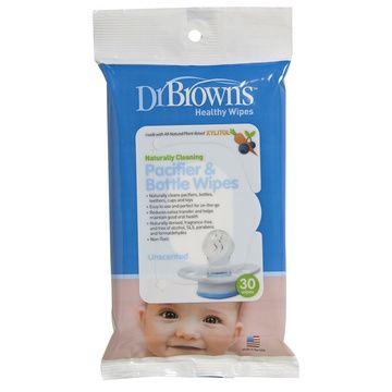 Toallitas limpieza mamadera y chupete (30 unidades) Dr. Brown's