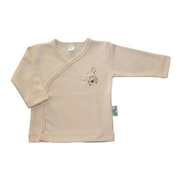 Polera kimono natural algodón pima orgánico Gea Organika