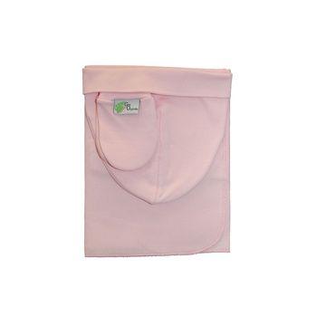 Set rosado Tuto, gorro y mitón Gea Organika