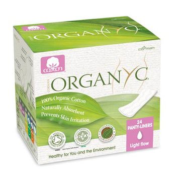 Protectores diarios Orgánicos Ultra delgados (24 unidades) Organyc