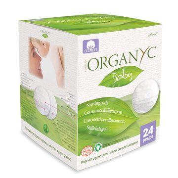 Absorbentes de leche orgánicos (24 unidades) Organyc