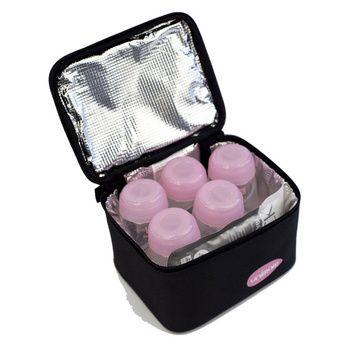 Cooler portátil con 5 botellas y dos enfriadores Unimom