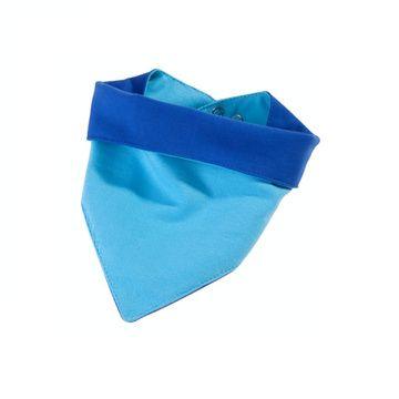 Babero impermeable tela Caracol (Azul) Ahí-Tá!
