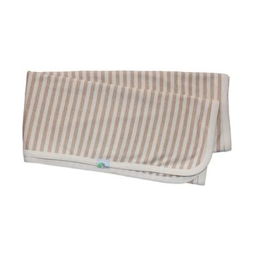 Manta algodón pima orgánico Listada Gea Organika