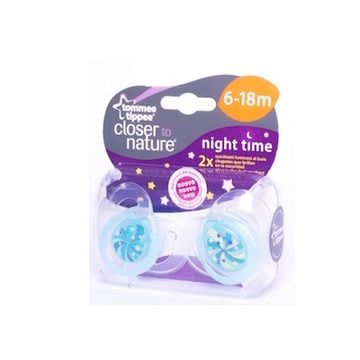 Chupete Silicona Night Time (6-18 meses) Tommee Tippee