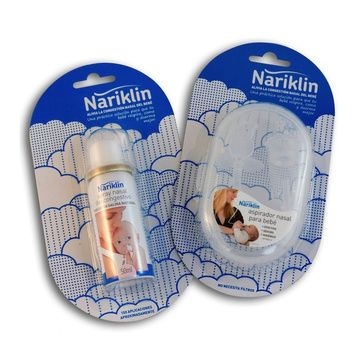 Pack Aspirador nasal + Spray Descongestionante Nariklin